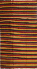 Kilim Modern Rug 195X372 Authentic  Modern Handwoven Dark Red/Orange (Wool, Persia/Iran)