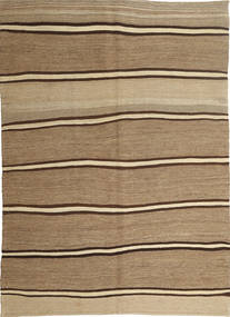 Kilim Modern Rug 166X232 Authentic  Modern Handwoven Light Brown/Dark Beige (Wool, Persia/Iran)