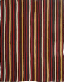 Kelim Moderni Matto 157X204 Moderni Käsinkudottu Tummanpunainen/Musta (Villa, Persia/Iran)