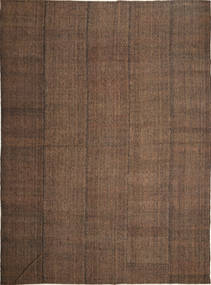 Kilim Modern Rug 252X347 Authentic  Modern Handwoven Brown/Dark Brown Large (Wool, Persia/Iran)