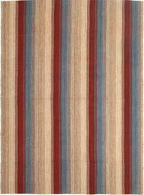 Kilim Modern Rug 179X245 Authentic  Modern Handwoven Light Brown/Brown (Wool, Persia/Iran)