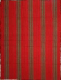 Kelim Moderne Vloerkleed 253X345 Echt Modern Handgeweven Roestkleur/Donkerrood Groot (Wol, Perzië/Iran)