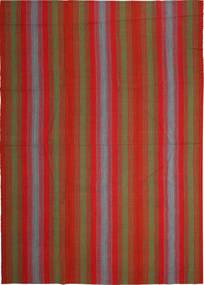 Kelim Moderni Matto 248X352 Moderni Käsinkudottu Ruoste/Tummanpunainen (Villa, Persia/Iran)