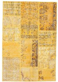 Patchwork Rug 121X179 Authentic  Modern Handknotted Light Brown/Yellow (Wool, Turkey)