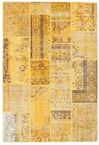 Patchwork Rug 140X205 Authentic  Modern Handknotted Light Brown/Yellow (Wool, Turkey)