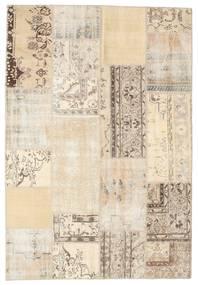 Patchwork Rug 159X232 Authentic  Modern Handknotted Beige/Light Brown (Wool, Turkey)