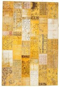 Patchwork Rug 199X301 Authentic  Modern Handknotted Light Brown/Yellow (Wool, Turkey)