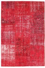 Patchwork Szőnyeg 120X180 Modern Csomózású Piros/Rózsaszín (Gyapjú, Törökország)