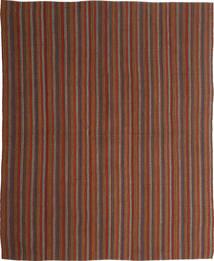 Kelim Moderne Teppe 170X207 Ekte Moderne Håndvevd Brun/Mørk Brun (Ull, Persia/Iran)