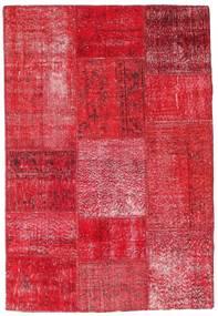 Patchwork Szőnyeg 121X178 Modern Csomózású Piros/Rozsdaszín/Rózsaszín (Gyapjú, Törökország)
