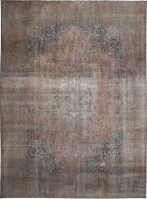 Colored Vintage Tapis 283X385 Moderne Fait Main Gris Clair/Marron Grand (Laine, Perse/Iran)