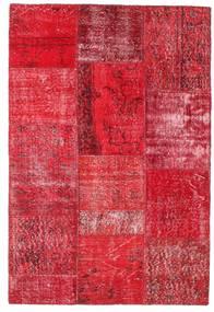 Patchwork Szőnyeg 121X180 Modern Csomózású Piros/Rozsdaszín/Rózsaszín (Gyapjú, Törökország)