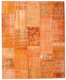 Patchwork Szőnyeg 201X246 Modern Csomózású Narancssárga/Sötét Bézs (Gyapjú, Törökország)