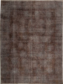 Colored Vintage Rug 283X384 Authentic  Modern Handknotted Light Brown/Dark Brown Large (Wool, Persia/Iran)
