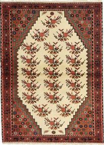 Saveh Alfombra 105X147 Oriental Hecha A Mano Marrón Oscuro/Beige (Lana, Persia/Irán)
