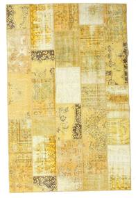 Patchwork Rug 194X300 Authentic  Modern Handknotted Dark Beige/Yellow (Wool, Turkey)