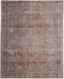 Colored Vintage Rug 291X365 Authentic  Modern Handknotted Light Brown/Light Grey Large (Wool, Persia/Iran)