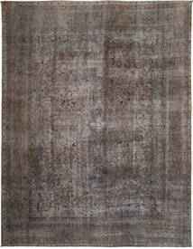 Colored Vintage Rug 292X378 Authentic  Modern Handknotted Dark Grey/Light Brown Large (Wool, Persia/Iran)