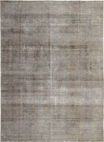 Colored Vintage Rug 276X384 Authentic  Modern Handknotted Light Grey/Dark Grey Large (Wool, Persia/Iran)