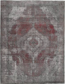 Colored Vintage Rug 242X325 Authentic  Modern Handknotted Light Grey/Dark Grey (Wool, Persia/Iran)