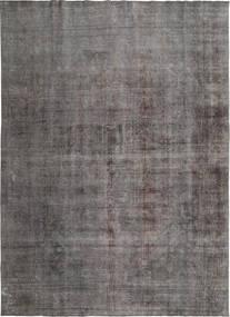 Colored Vintage Tapete 272X385 Moderno Feito A Mão Cinza Escuro/Cinzento Claro Grande (Lã, Pérsia/Irão)