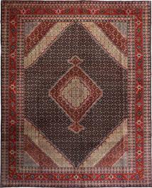 Ardabil Dywan 300X376 Orientalny Tkany Ręcznie Ciemnoczerwony/Jasnobrązowy Duży (Wełna, Persja/Iran)