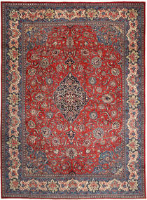 Sarouk Rug 290X396 Authentic  Oriental Handknotted Dark Red/Dark Grey Large (Wool, Persia/Iran)