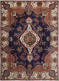 Tabriz Patina Matta 283X393 Äkta Orientalisk Handknuten Mörkbrun/Svart Stor (Ull, Persien/Iran)