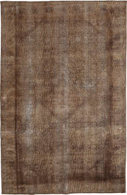Colored Vintage Rug 180X285 Authentic  Modern Handknotted Brown/Dark Brown (Wool, Persia/Iran)