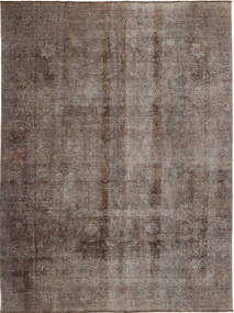 Colored Vintage Rug 283X380 Authentic  Modern Handknotted Brown/Dark Brown/Light Brown Large (Wool, Persia/Iran)