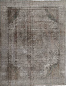 Colored Vintage Rug 289X380 Authentic  Modern Handknotted Dark Grey/Light Grey Large (Wool, Persia/Iran)