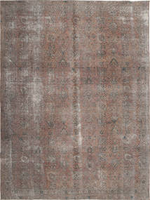 Colored Vintage Rug 242X326 Authentic  Modern Handknotted Light Brown/Light Grey (Wool, Persia/Iran)