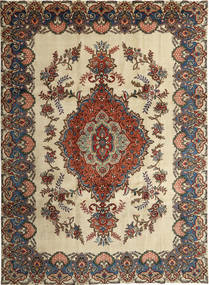 Tabriz Patina Rug 246X339 Authentic Oriental Handknotted Dark Grey/Light Brown (Wool, Persia/Iran)