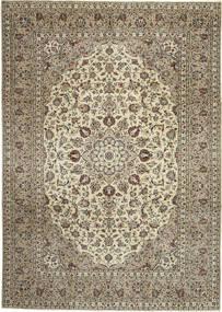 Keshan Patina Rug 238X344 Authentic  Oriental Handknotted Light Brown/Dark Beige (Wool, Persia/Iran)