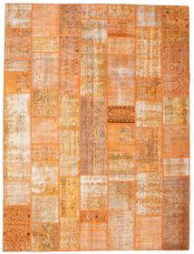 Patchwork Rug 275X364 Authentic  Modern Handknotted Light Brown/Orange Large (Wool, Turkey)