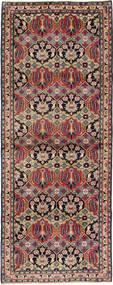 Najafabad Tæppe 112X293 Ægte Orientalsk Håndknyttet Tæppeløber Lysebrun/Mørkegrøn (Uld, Persien/Iran)