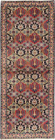 Najafabad Rug 112X293 Authentic  Oriental Handknotted Hallway Runner  Light Brown/Dark Green (Wool, Persia/Iran)