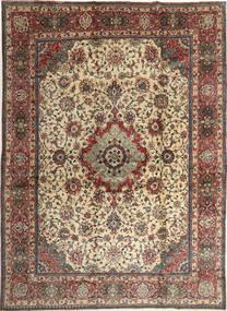 Sarouk Rug 267X370 Authentic  Oriental Handknotted Light Brown/Dark Grey Large (Wool, Persia/Iran)