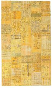 Patchwork Rug 177X302 Authentic  Modern Handknotted Yellow/Light Brown (Wool, Turkey)