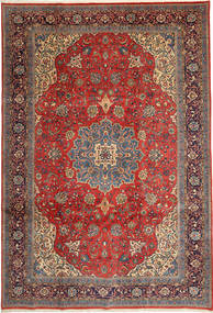 Sarouk Rug 238X350 Authentic  Oriental Handknotted Dark Red/Rust Red (Wool, Persia/Iran)