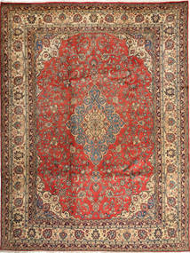 Hamadan Shahrbaf Rug 284X363 Authentic  Oriental Handknotted Light Brown/Brown Large (Wool, Persia/Iran)