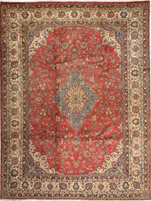 Hamadan Shahrbaf Alfombra 284X363 Oriental Hecha A Mano Marrón Claro/Marrón Grande (Lana, Persia/Irán)