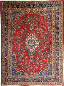 Hamadan Shahrbaf Matta 268X360 Äkta Orientalisk Handknuten Mörkbrun/Mörkröd Stor (Ull, Persien/Iran)