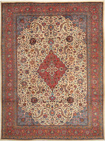Sarouk Rug 250X338 Authentic  Oriental Handknotted Light Brown/Brown Large (Wool, Persia/Iran)