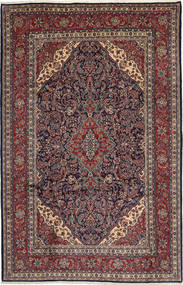 Hamadan Shahrbaf Rug 220X335 Authentic  Oriental Handknotted Light Brown/Dark Blue (Wool, Persia/Iran)