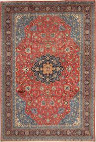 Sarough Teppe 248X360 Ekte Orientalsk Håndknyttet Mørk Rød/Rust (Ull, Persia/Iran)