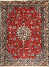 Sarough Matto 243X334 Itämainen Käsinsolmittu Tummanruskea/Ruskea (Villa, Persia/Iran)