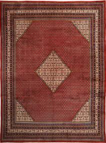 Sarough Mir Vloerkleed 292X400 Echt Oosters Handgeknoopt Donkerrood/Bruin Groot (Wol, Perzië/Iran)