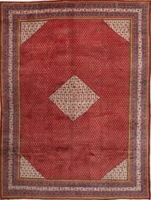 Sarough Mir Vloerkleed 298X412 Echt Oosters Handgeknoopt Donkerrood/Donkerbruin Groot (Wol, Perzië/Iran)