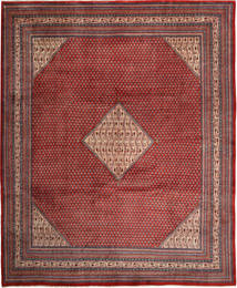 Sarouk Mir Rug 320X385 Authentic Oriental Handknotted Brown/Dark Red Large (Wool, Persia/Iran)